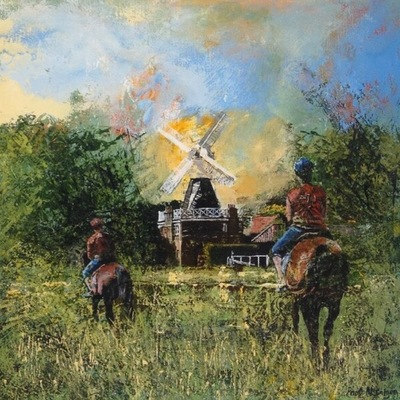 The Windmill I  by Paul McIntyre