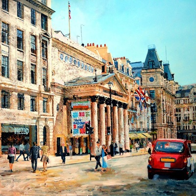Theatre Royal Haymarket  by Paul McIntyre