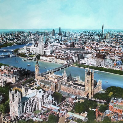 View over Westminster by Paul McIntyre