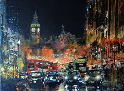 London Calling - Paul McIntyre Solo Show